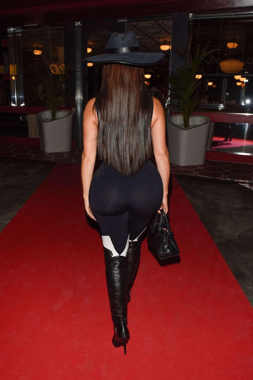 Demi Rose Mawby Night Out Ibiza