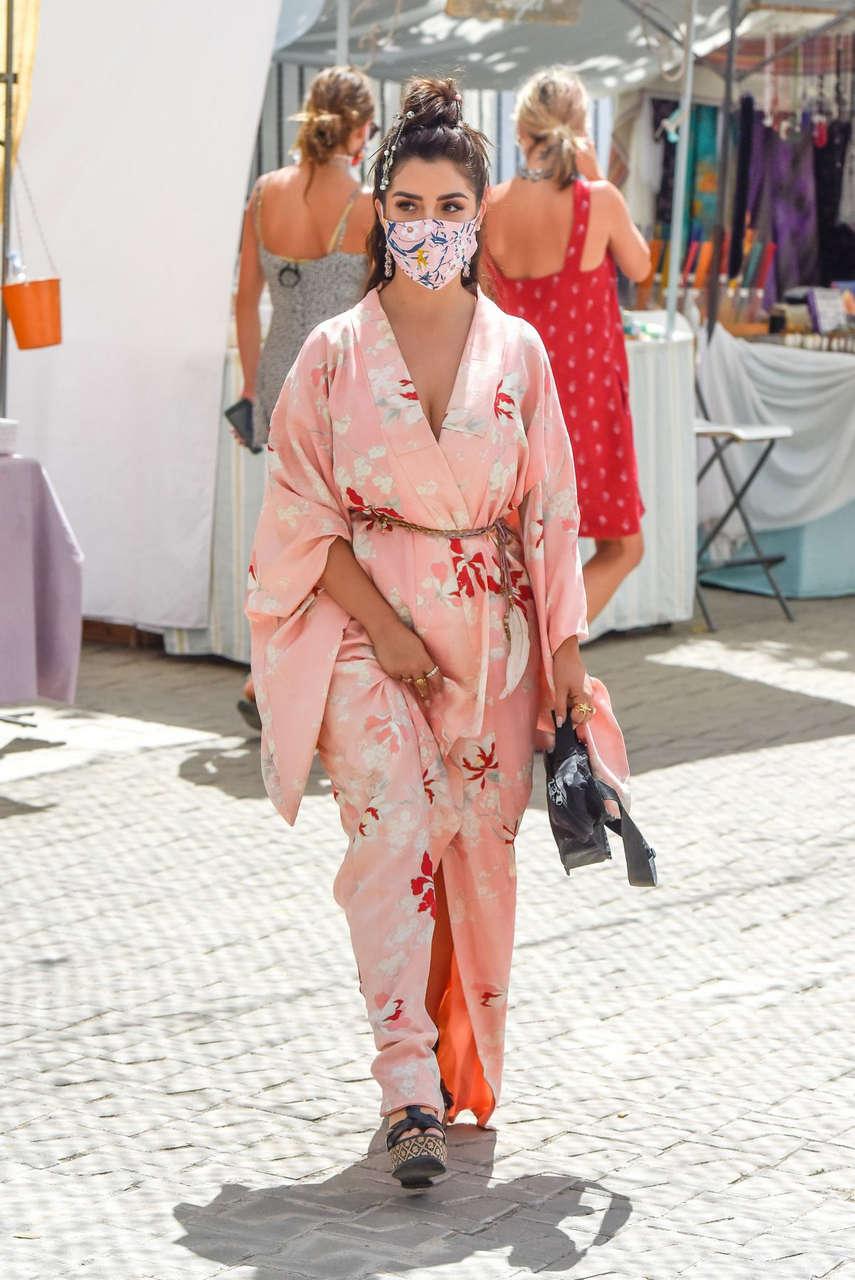Demi Rose Out Ibiza