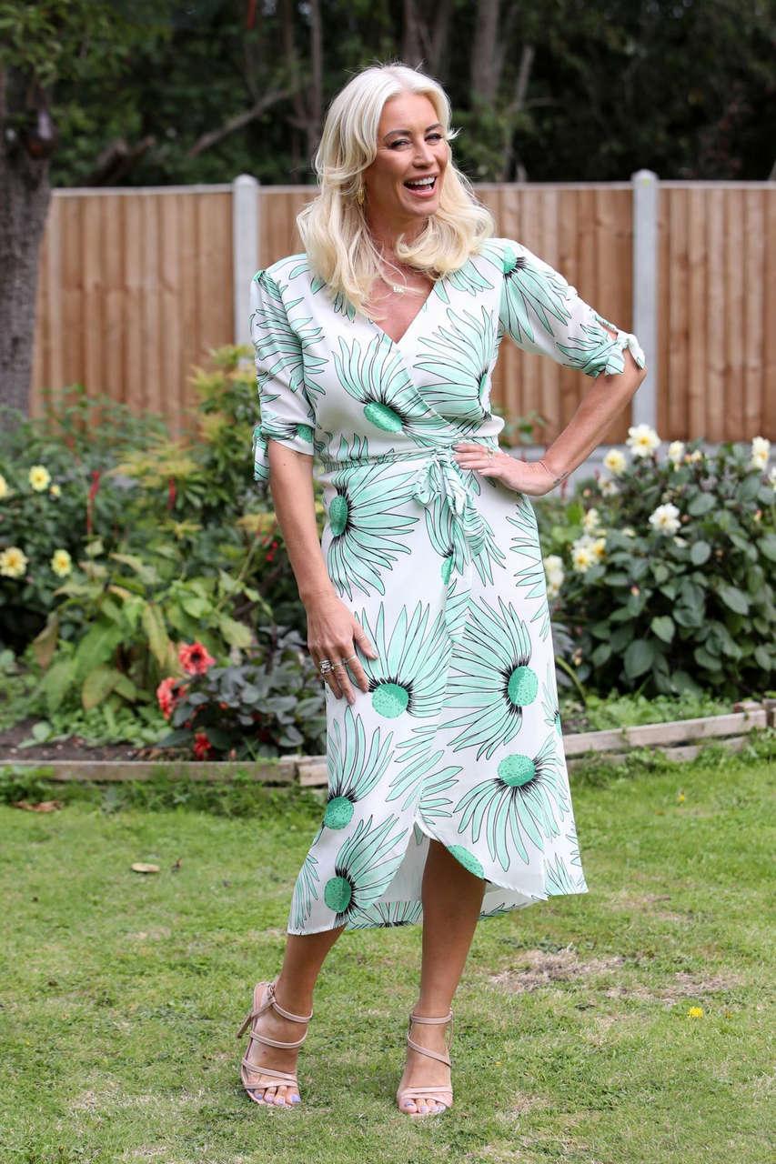 Denise Van Outen Set Of Only Way Is Essex