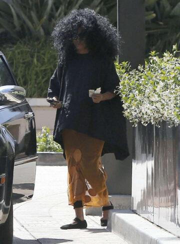 Diana Ross Shopping Barneys New York Beverly Hills