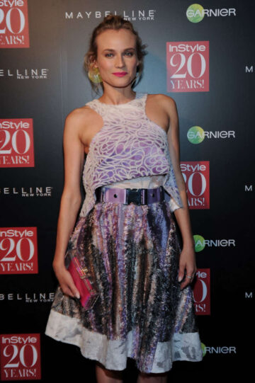 Diane Kruger Instyle 20th Anniversary Party New York