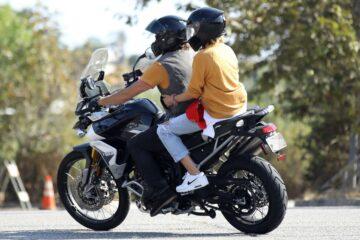 Diane Kruger Norman Reedus Riding Motorcycle Out Malibu