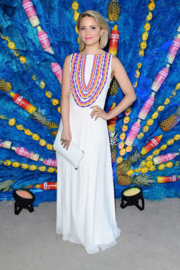 Dianna Agron Svedkas Summer Samba Party Beverly Hills