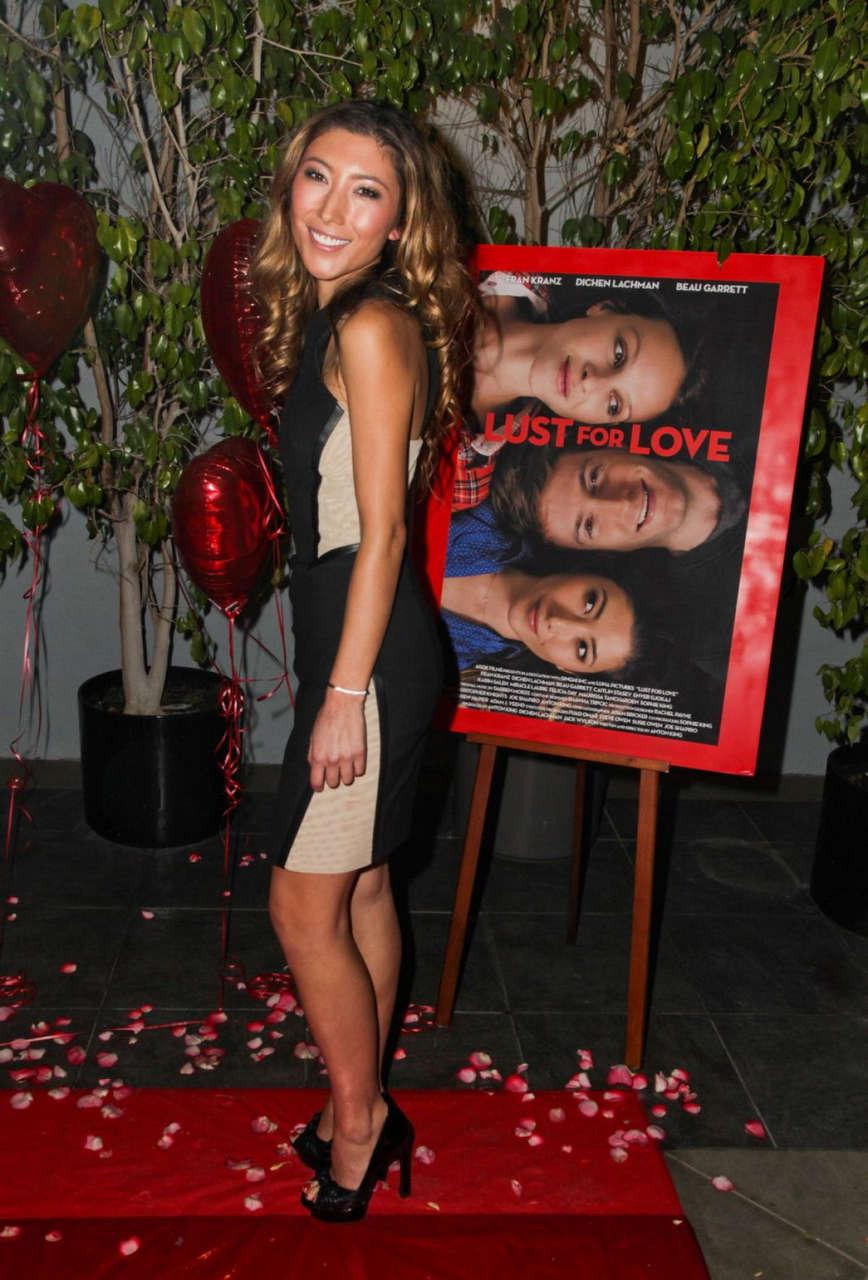 Dichen Lachman Lust Love Premiere Los Angeles
