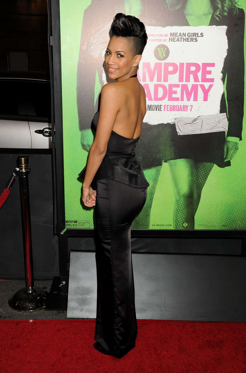 Dominique Tipper Vampire Academy Premiere Los Angeles