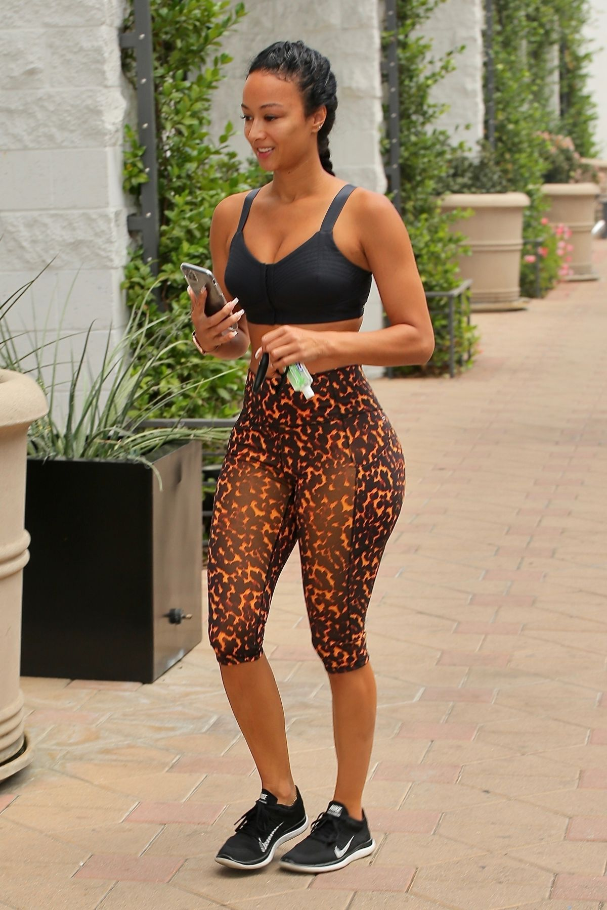 Draya Michele Tights Out Los Angeles