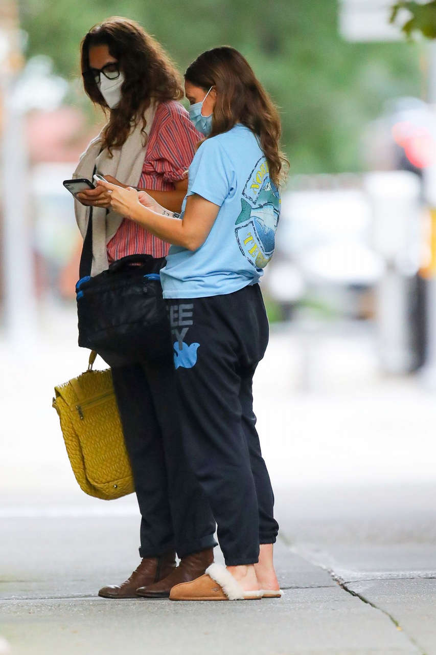 Drew Barrymore Out About New York