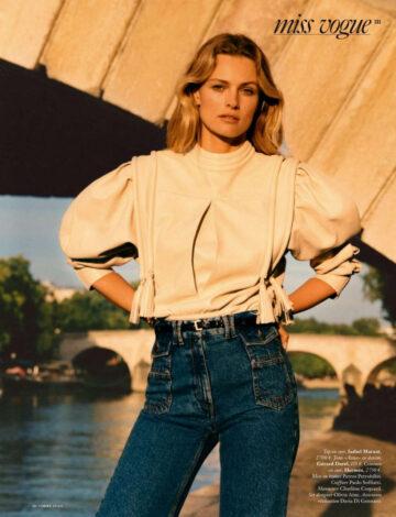 Edita Vilkeviciute Vogue Magazine France October
