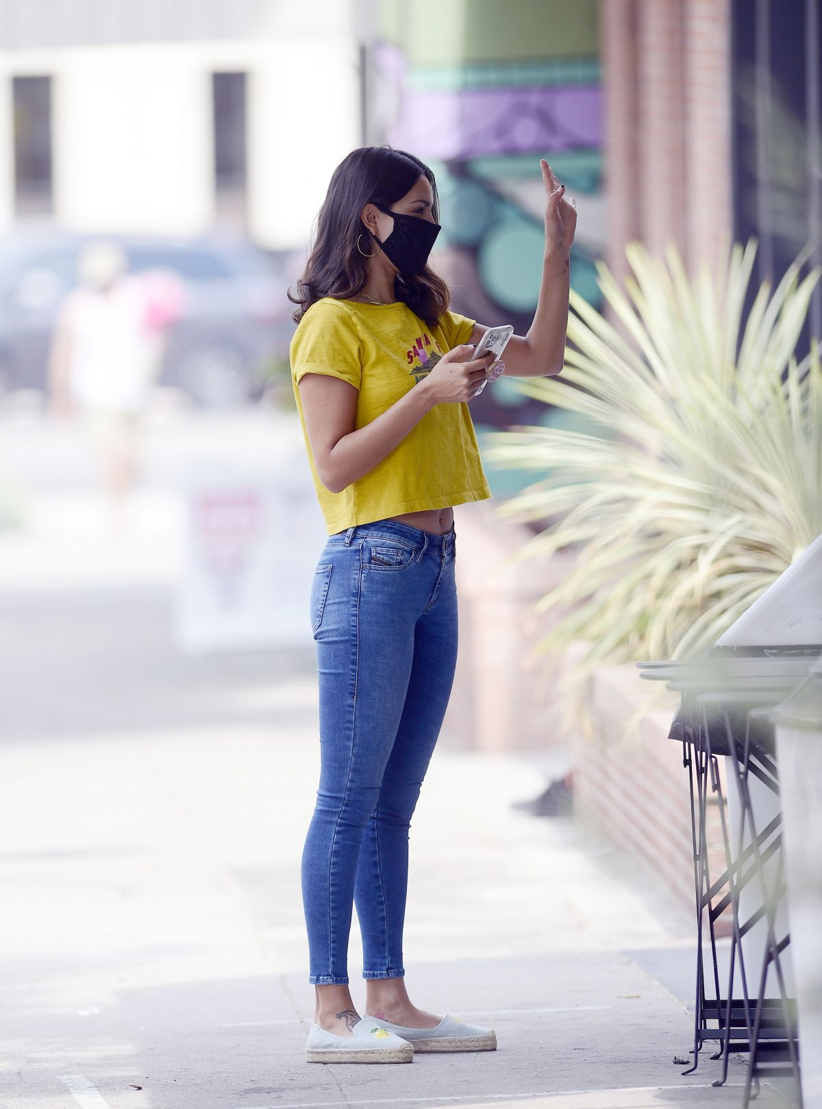 Eiza Gonzalez Out For Coffee Los Angeles