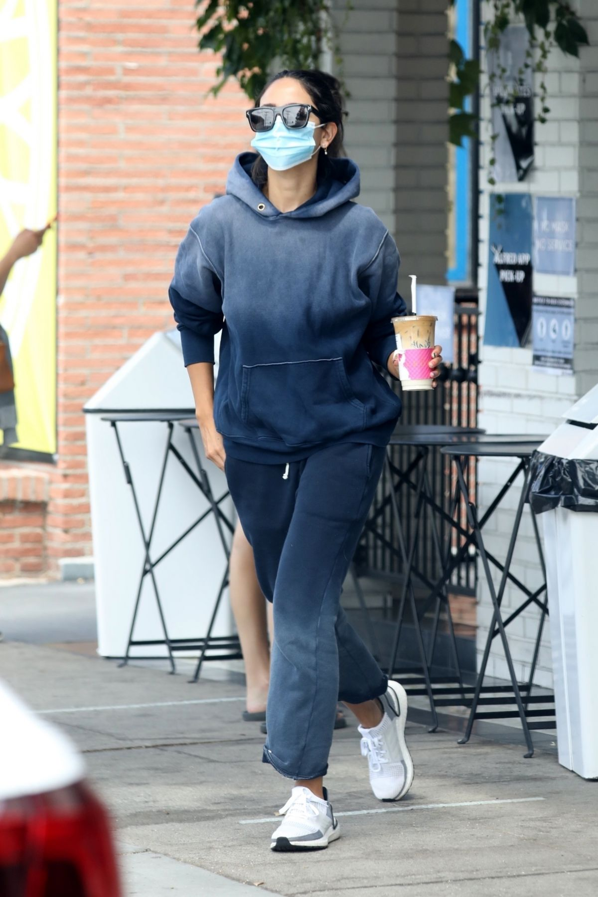 Eiza Gonzalez Out For Iced Coffee Los Angeles