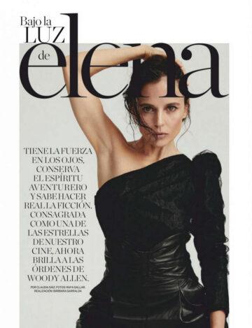 Elena Anaya Elle Magazine Spain October