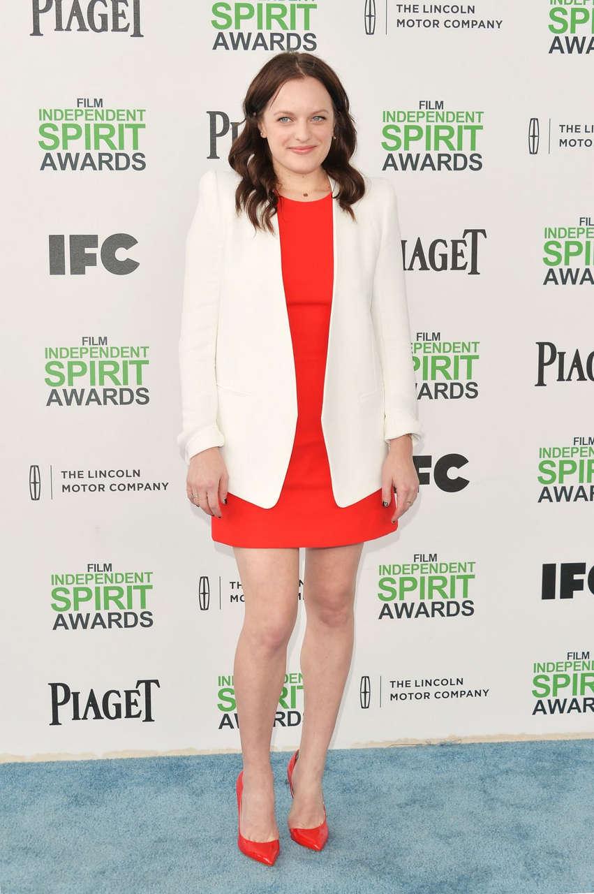 Elisabeth Moss 2014 Film Independent Spirit Awards Santa Monica
