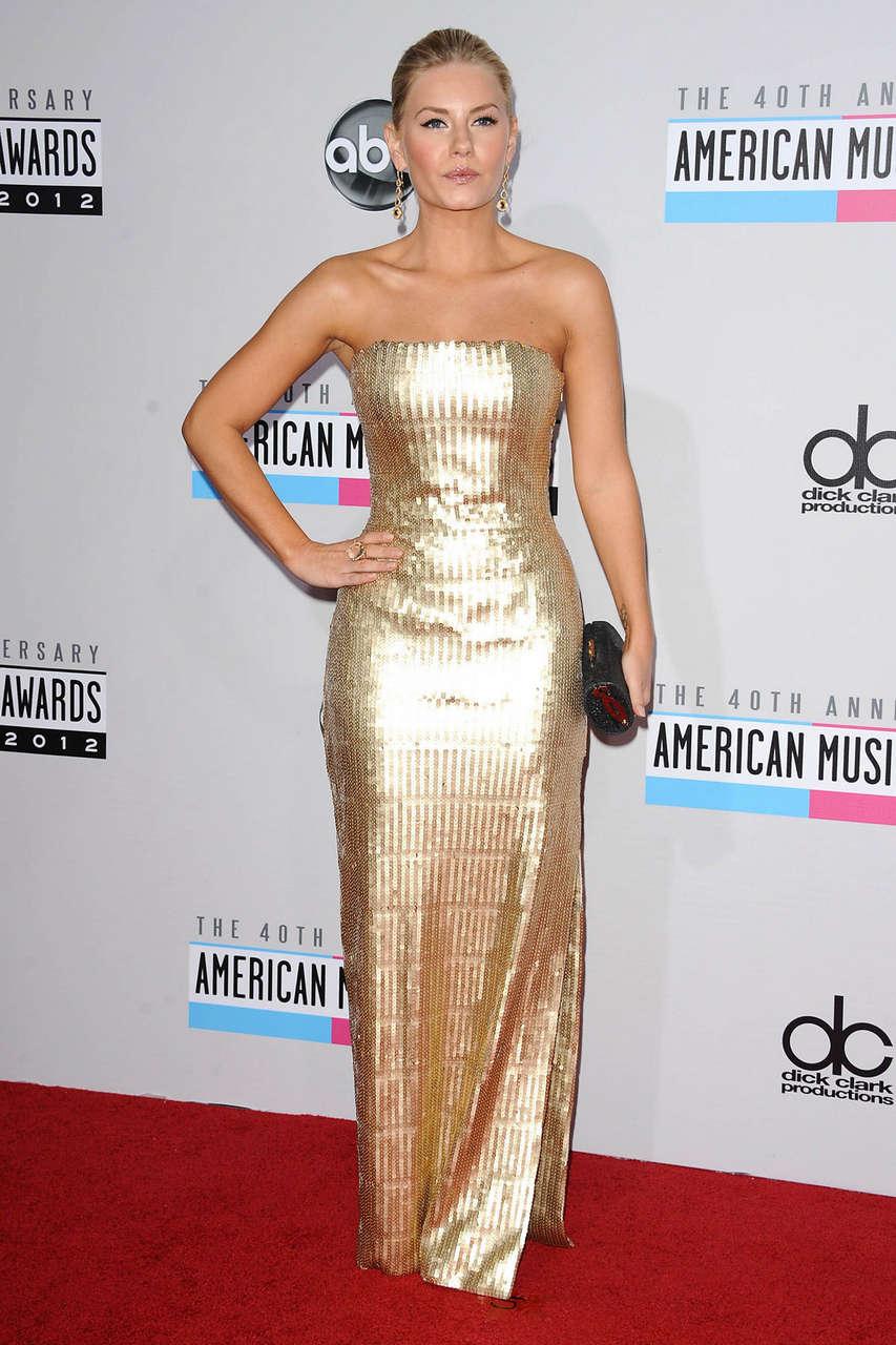 Elisha Cuthbert 40th Anniversary American Music Awards Los Angeles