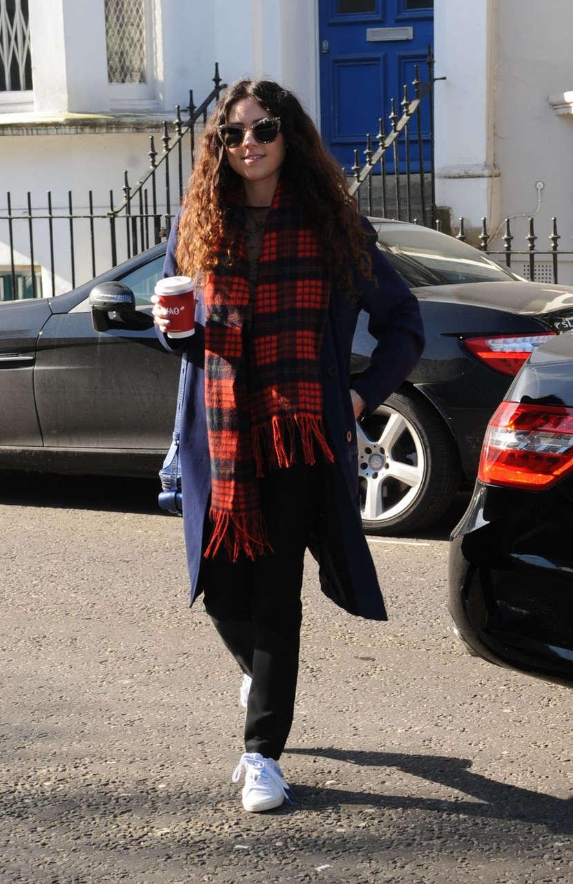 Eliza Doolittle Filming Sport Relief Sketch London