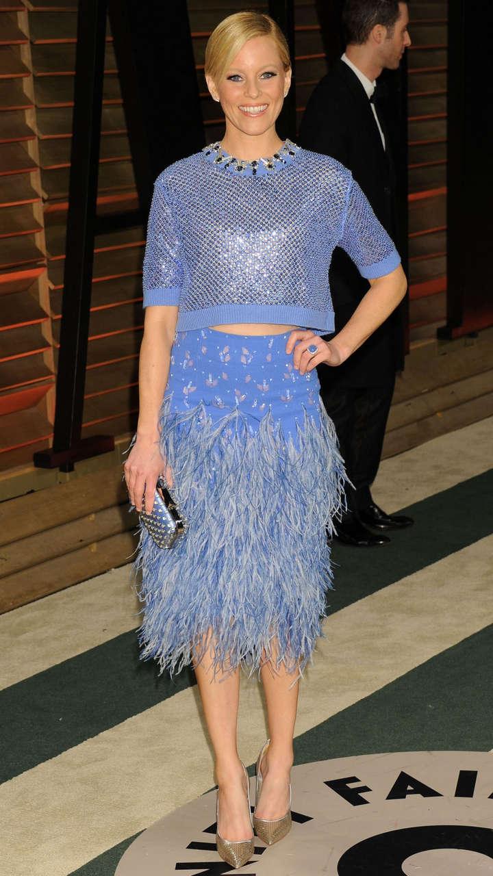 Elizabeth Banks Vanity Fair Oscar Party Hollywood