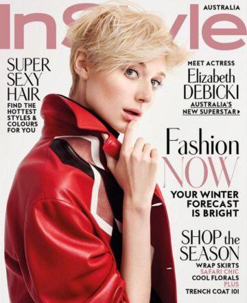 Elizabeth Debicki Instyle Magazine Australia June 2016 Issue
