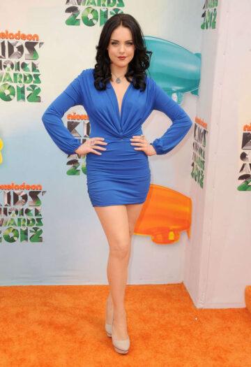 Elizabeth Gillies 25th Annual Nickelodeon Kids Choice Awards Los Angeles