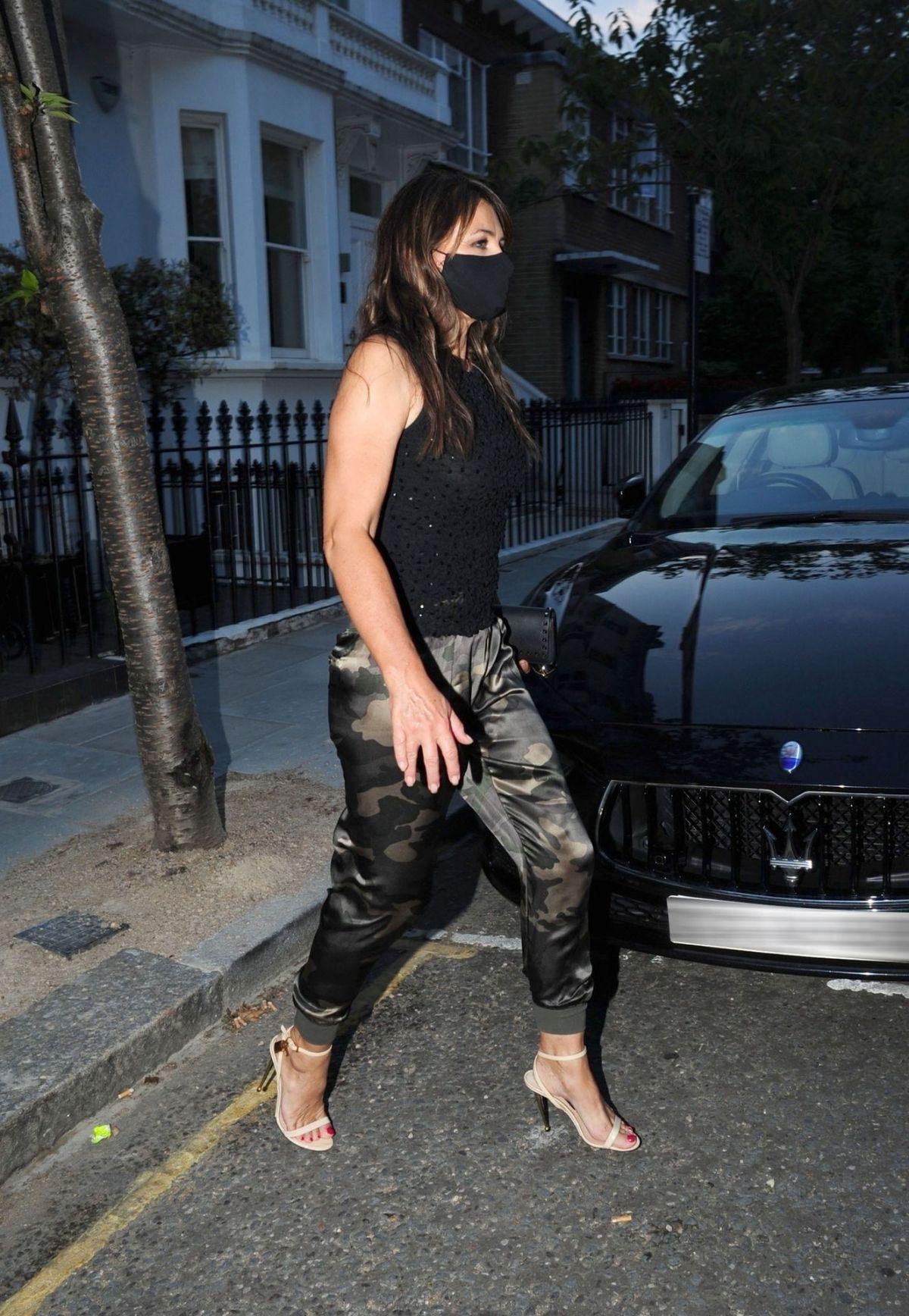 Elizabeth Hurley Night Out London