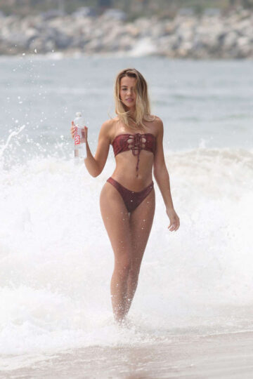 Elizabeth Montgomery Bikini For 138 Water Photoshoot Malibu
