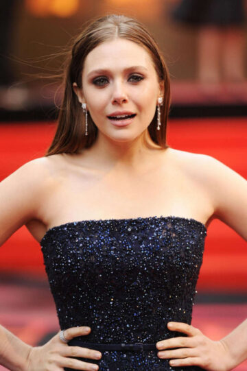 Elizabeth Olsen Godzilla Premiele London
