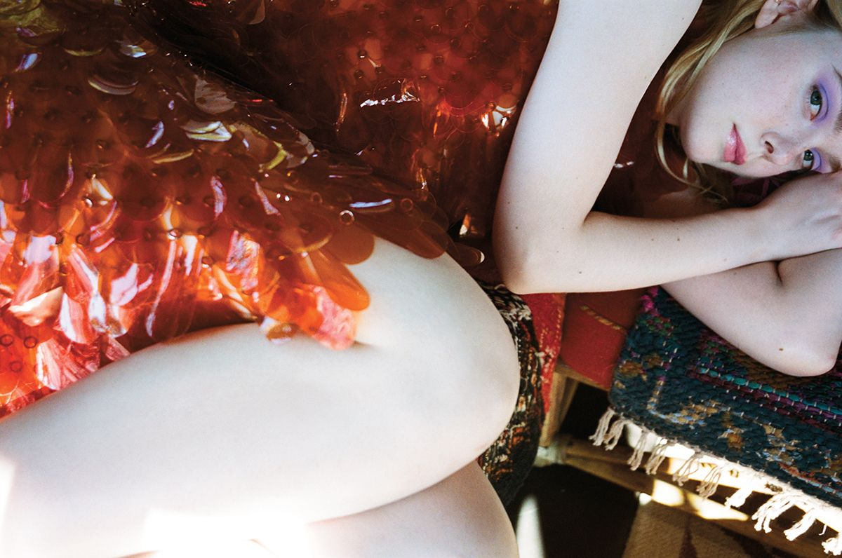 Elle Fanning C Magazine 15th Anniversary Edition September