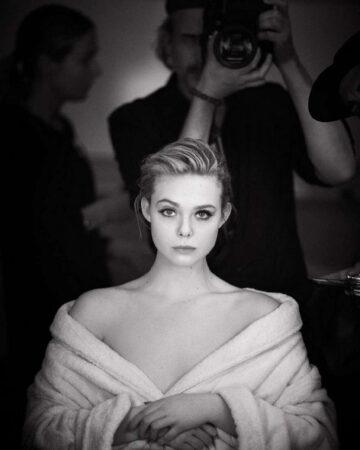Elle Fanning For L Oreal Paris