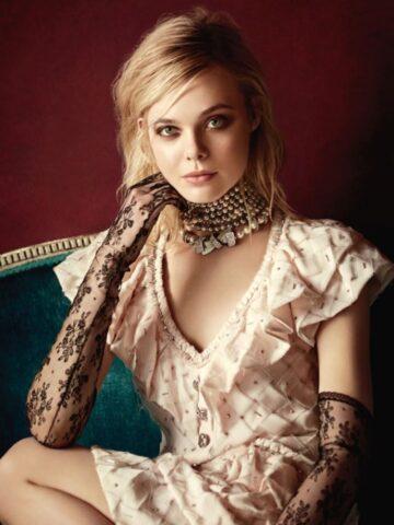 Elle Fanning Vogue Magazine Australia March 2016 Issue
