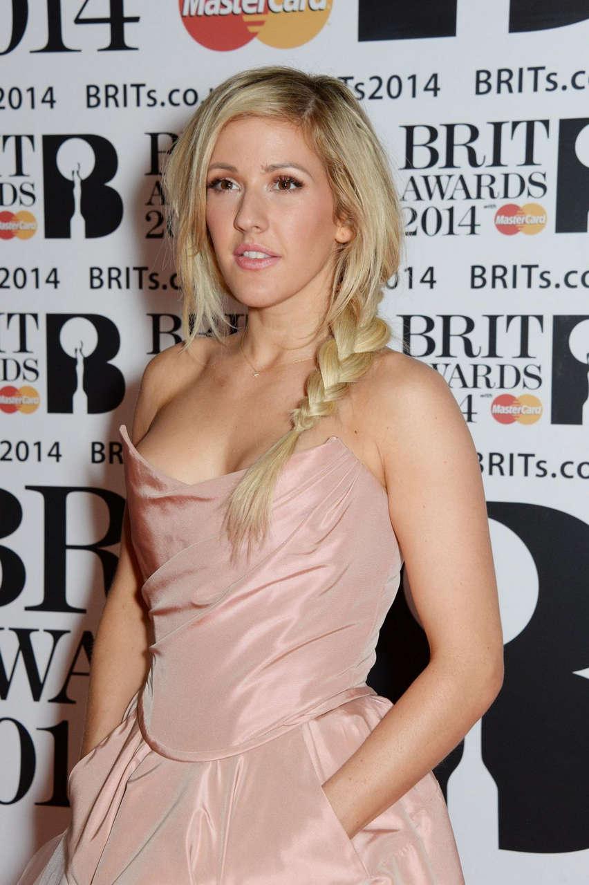 Ellie Goulding 2014 Brit Awards London