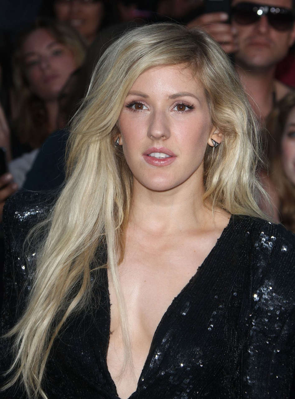 Ellie Goulding Divergent Premiere Los Angeles