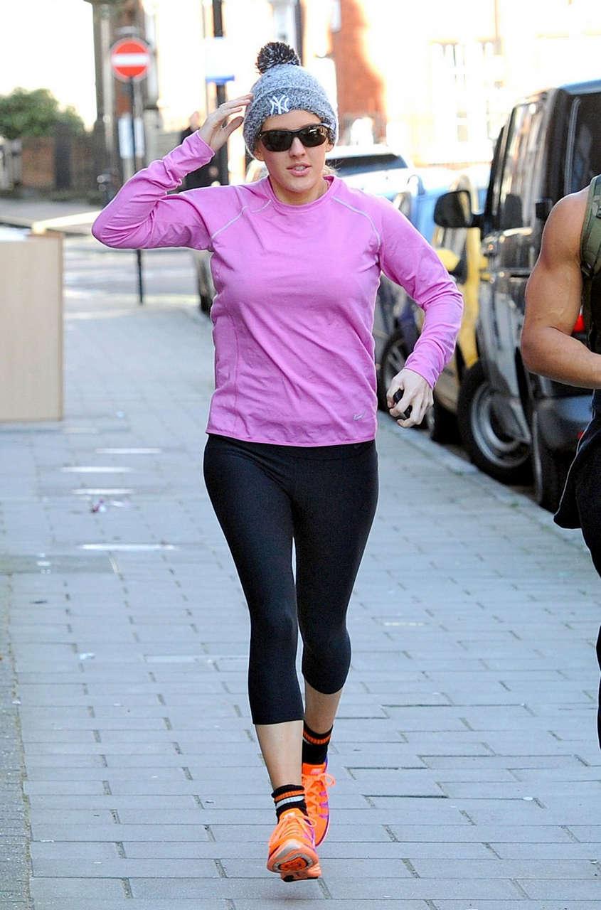 Ellie Goulding Work Out Park London