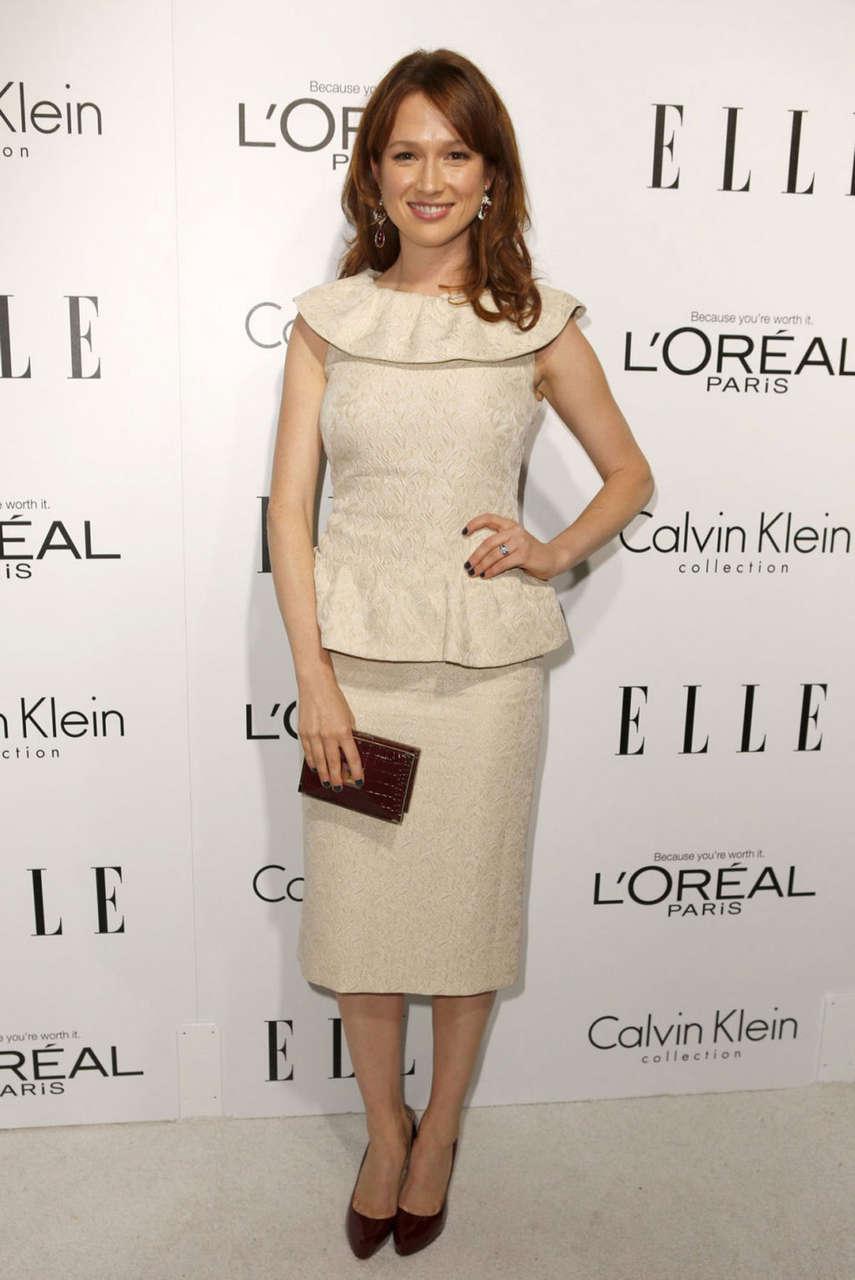 Ellie Kemper Elles Women Hollywood Event Beverly Hills