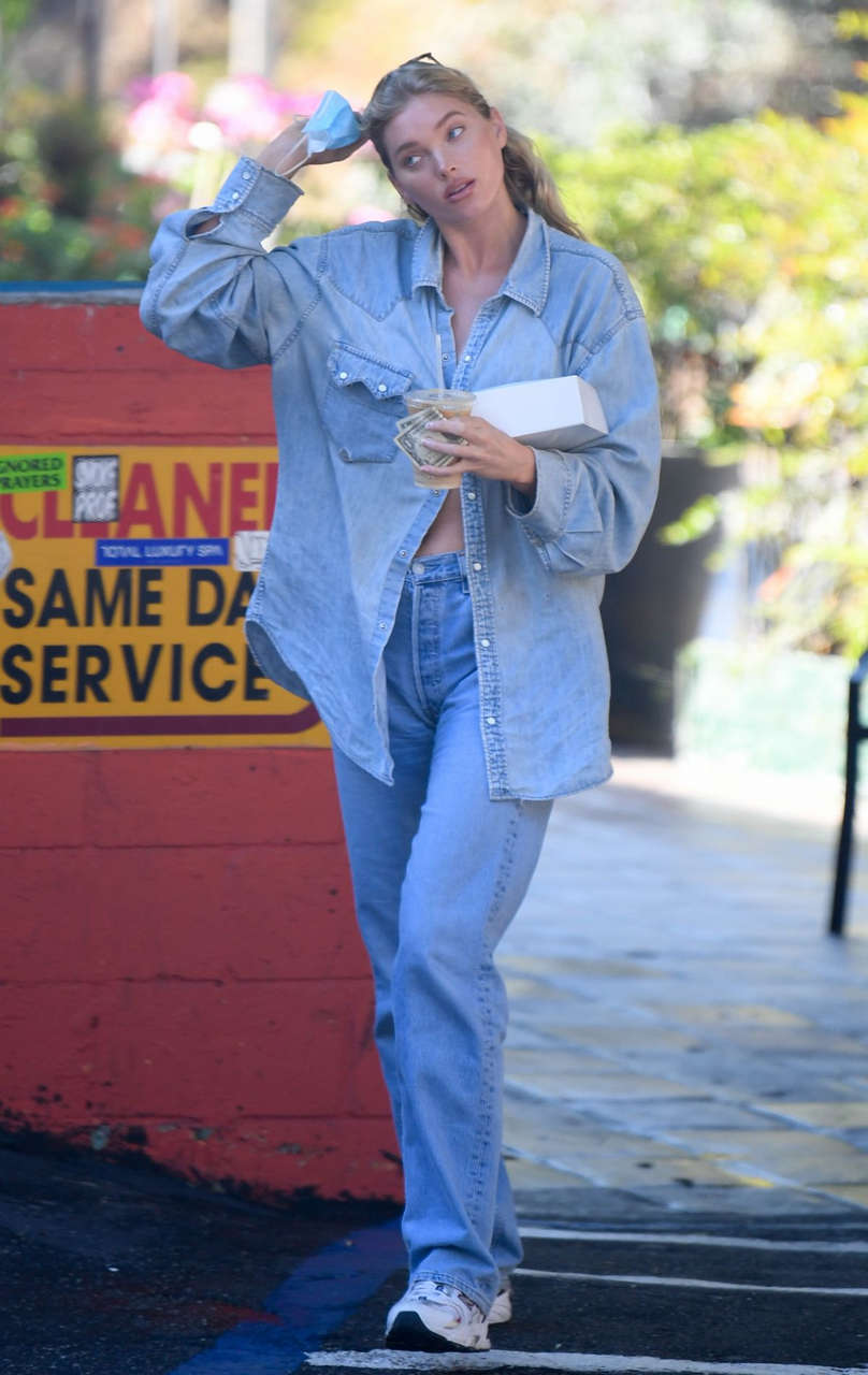 Elsa Hosk Out For Coffee Los Angeles