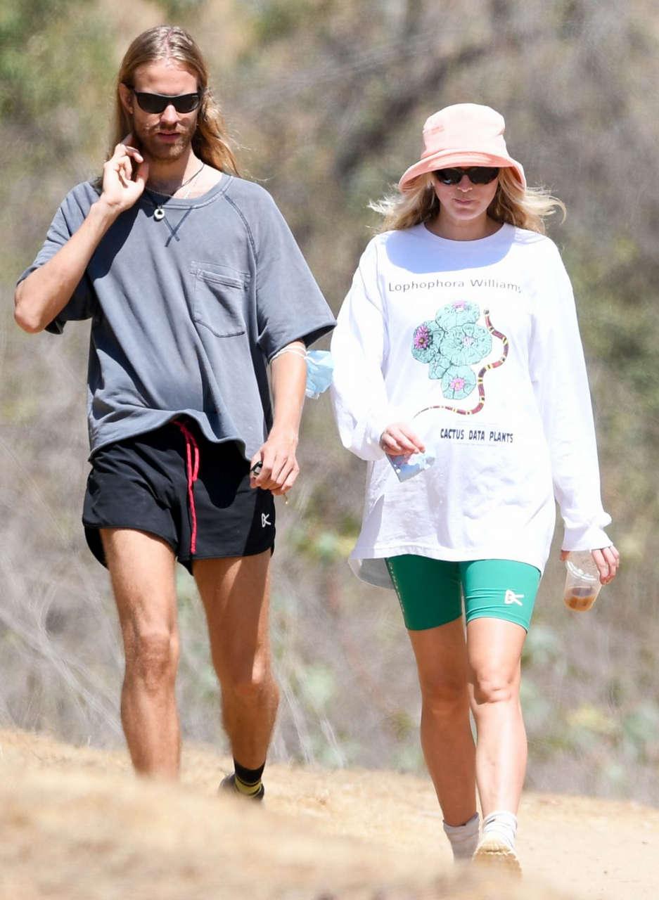 Elsa Hosk Tom Daly Out Hiking Los Angeles