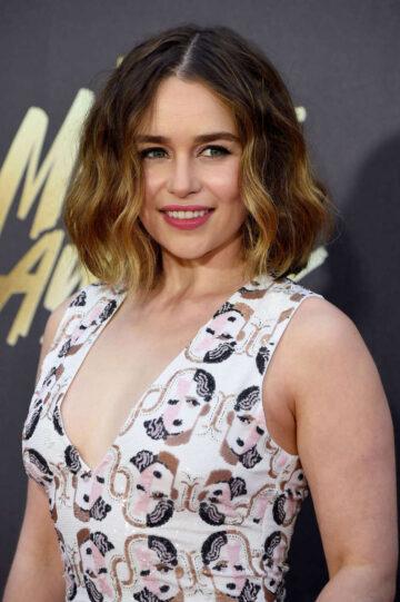 Emilia Clarke 2016 Mtv Movie Awards Burbank
