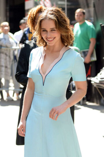 Emilia Clarke Good Morning America New York