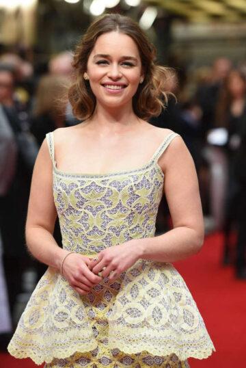 Emilia Clarke Me Before You Premiere London