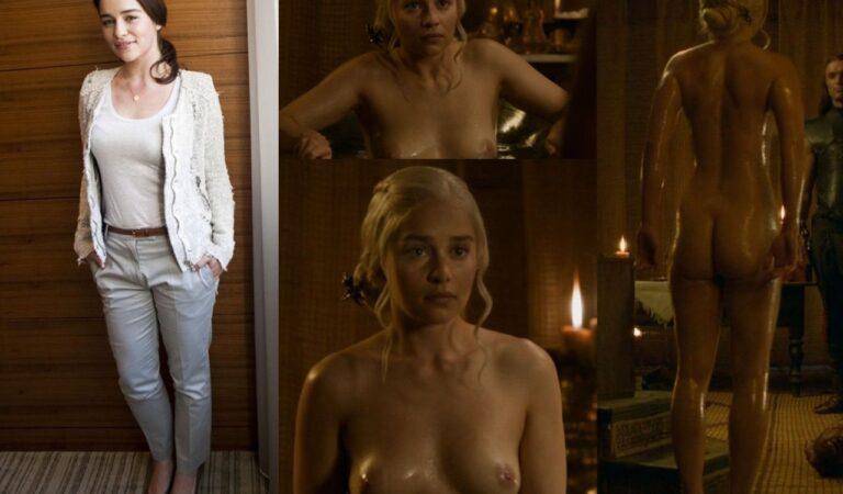 Emilia Clarke Onoff (2 photos)