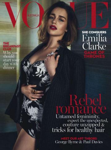 Emilia Clarke Vogue Magazine Australia May 2016 Issue