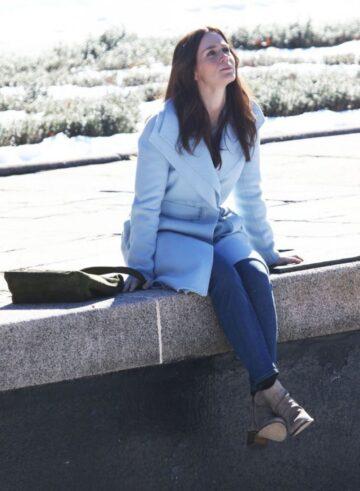 Emily Blunt Girl Train Set New York