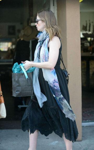 Emily Blunt Shopping Spitfire Girl Los Feliz