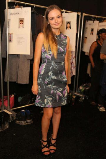 Emily Meade Rchard Chai Love Men Fashion Show