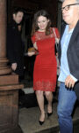 Emily Mortimer Instyle Magazines Best British Talent Pre Bafta Party London
