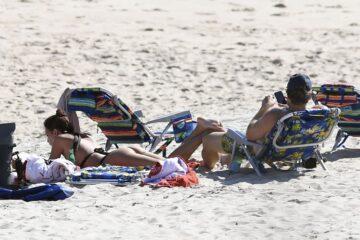 Emily Ratajkowski Bikini Beach Hamptons