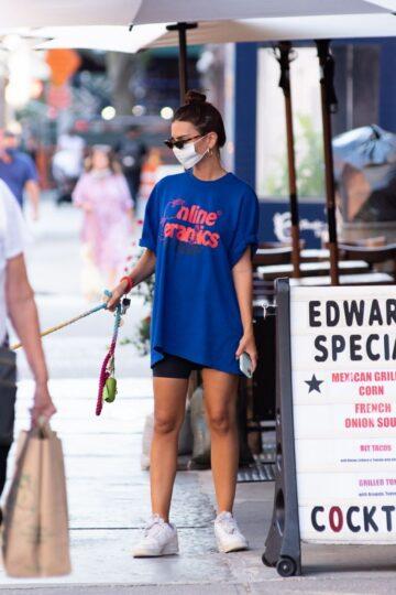 Emily Ratajkowski Out New York