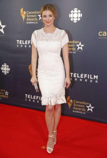Emily Vancamp 2016 Canadian Screen Awards Toronto