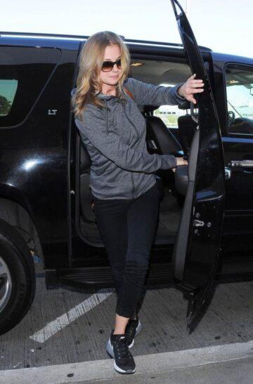 Emily Vancamp Arrives Los Angeles International Airport