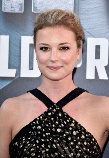 Emily Vancamp Captain America Civil War Premiere Los Angeles