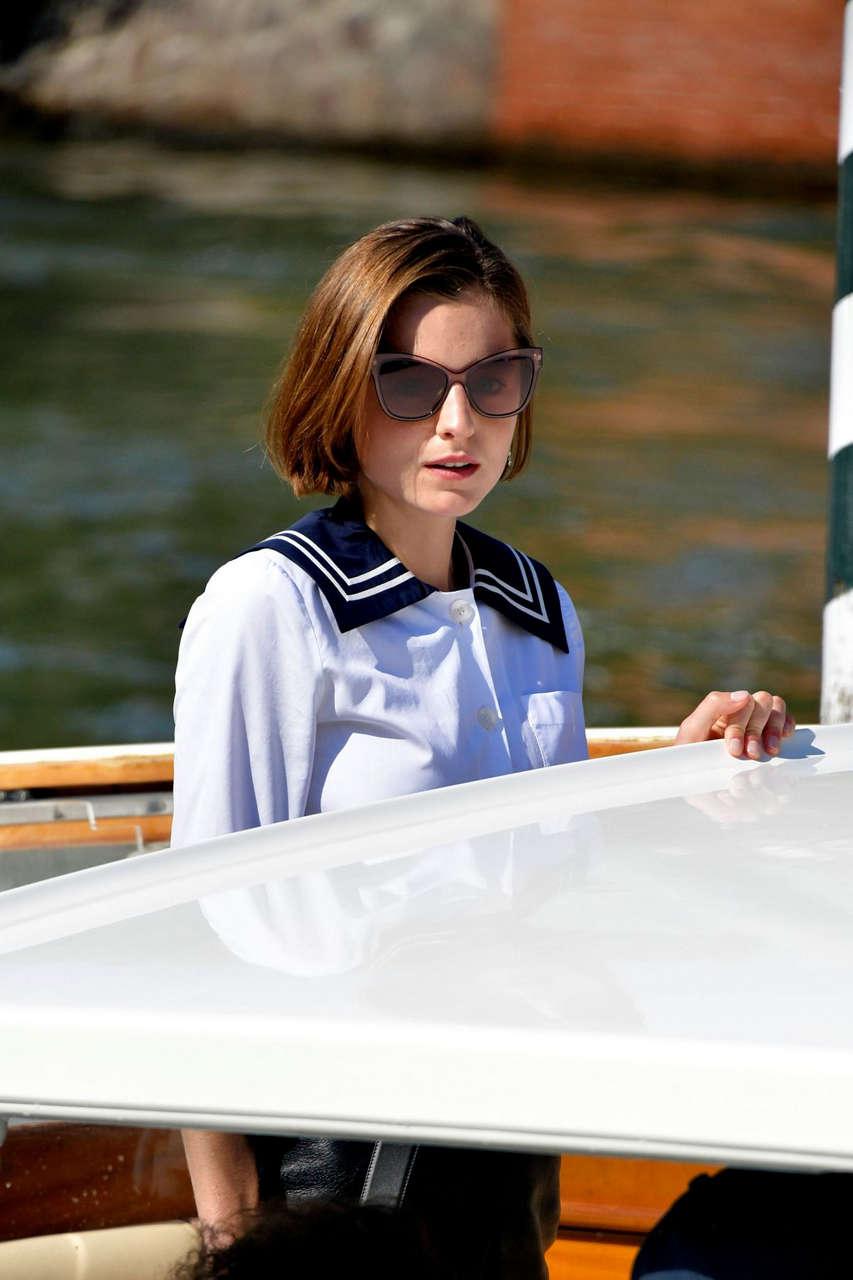 Emma Corrin Hotel Excelsior 2020 Venice Film Festival