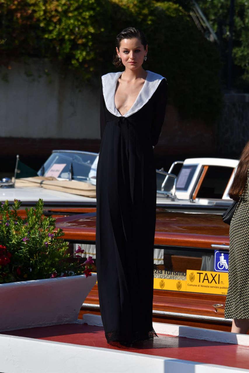 Emma Corrin Out 77th Venice International Flm Festival