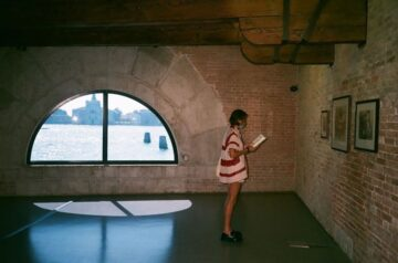 Emma Corrin Venice Film Festival Photo Diary For Vogue Uk September